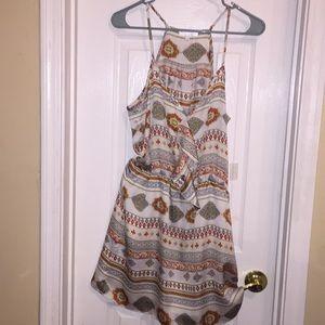 WINSOR/GLAM Sz:M  silky & lined dress